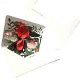 Pop-up kaart, bloemen
