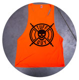 Tuff Guy - Orange Tank Top