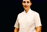 Klassische Kurzarm-Bluse weiss UK