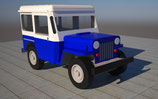 Jeep CJ3 USPS