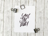 "Postkarte ""You got this!"""