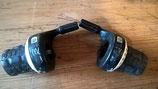 Poignée Tournante :SRAM ESP 700 noir 3x8v