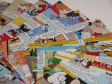 Origamipapier Comic Micky 15x15cm 25 Blatt