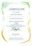 Certificate(修了証発行)