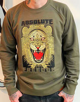 Sweater Absolute freedom  lion unisex