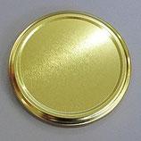 Honigglasdeckel Gold