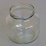 Honigglas ohne Deckel