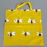 Stofftragtasche mit Bienensujet