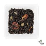 Schwarzer Tee Erdbeer-Sahne