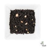 Schwarzer Tee Sahne-Krokant