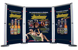 RollBanner-Messestand Kit