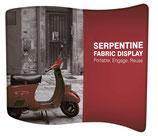 """Soft-Textildisplay """"Serpentine"""""""
