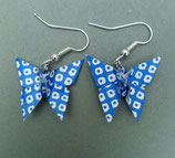 Origami - Ohrringe (Schmetterling)