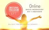 Emotional Freedom Techniques - ONLINE-Grundkurs