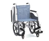松永製作所 車いす スチール製多機能車椅子 介助型 前座高470mm CM-261