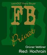 Grüner Veltliner Hochrain Privat Reserve 2017