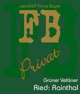 Grüner Veltliner Rainthal Privat Reserve 2017