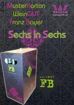 Musterkarton weinGUT Franz Bayer