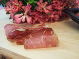 Coppa (Schwein), geschnitten