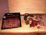 """Paket """"Gourmet"""", enthält geschnittener Rohschinken, Trockenfleisch, Coppa und ein Paar Zvieriwurst am Stück (Paketpreis)"""