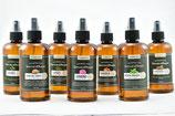7 Hidrolatos 250 ml (Laurel, Cedro del líbano, Ciprés, Geranio, Naranja, Menta, Coriandro)