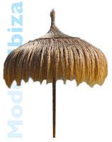 Z.Zt. nicht lieferbar / Strohschirm Ibiza 240 cm / ausverkauft, ab August wieder erhältlich