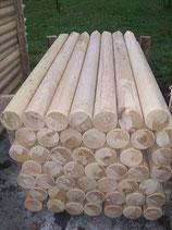 Holzpfahl Natur oder in hochwertiger Optik beschichtet