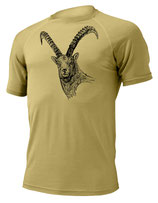 Steinbock T-Shirt-Sand-Design by P. Meile