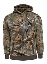 Gamewear 3D Hoodie Hirsch Photocamoulage