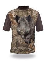 Gamewear 3D T-Shirt Wildsau Photocamoulage