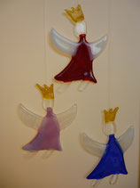 Fliegendes Engelchen mit Krone