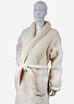 Schapenwollen badjas - ochtendjas