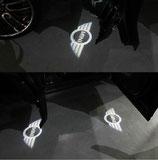 2 Stück MINI Cooper  Tür Lichter