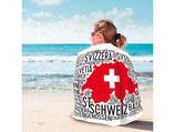 Badetuch Schweiz 170 cm x 100 cm