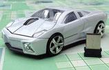 Sportcar - Maus mit Empfänger   ( Wireles Funkmaus )