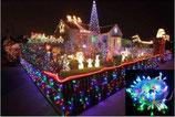 10M / 100 LEDs RGB Beleuchtung / NEU