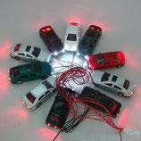 10 Stk Mini Auto mit Beleuchtung 1:75 ( NEU )