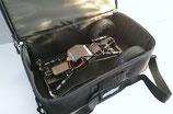 Edle, gepolsterte Fastrax CAR-BAG in Carbon-Optik mit vielen Zusatzfächern