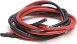 Hochflexibles Silikonkabel, SET mit je 2 Kabeln (rot/schwarz) Länge ca. 33 cm