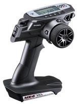 SANWA MX-6 - der richtige Einstieg mit 3 Kanälen