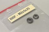 (2) - M2/M3 - Hochleistungs-Flanschkugellager