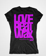 T-Shirt Love WOMEN, pink