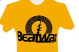 T-Shirt Logo MEN, schwarz / gelb