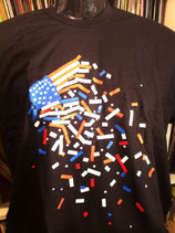 APB T-Shirt USA Flag
