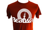 T-Shirt Logo MEN, weiss / rot