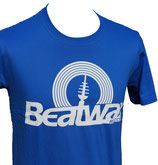 T-Shirt Logo MEN, weiss / blau
