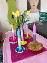 Dip-Dye deluxe Kerzen mit Farbverlauf