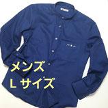 RAT☆RACE×GREENDAYS 苦楽園コラボ・バンドカラーシャツ【メンズLサイズ】