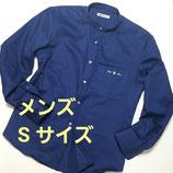 RAT☆RACE×GREENDAYS 苦楽園コラボ・バンドカラーシャツ【メンズSサイズ】