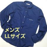 RAT☆RACE×GREENDAYS 苦楽園コラボ・バンドカラーシャツ【メンズLLサイズ】